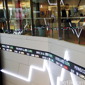 Investor Asing Jual Bersih Rp 2 T, IHSG Anjlok ke 5.884