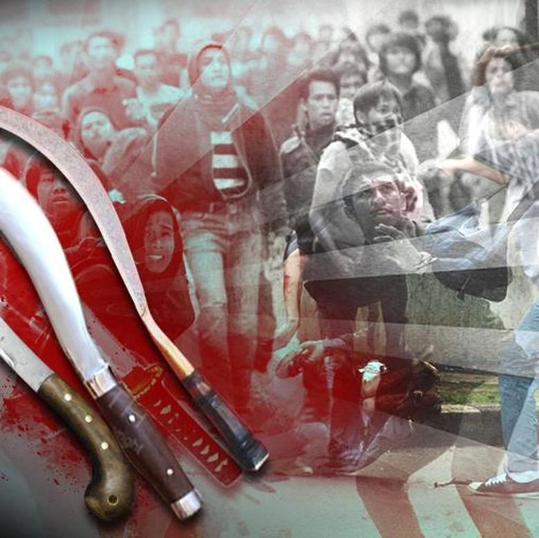 2 Orang Warga Tertembak dan 1 Polisi Luka dalam Bentrok di Solo