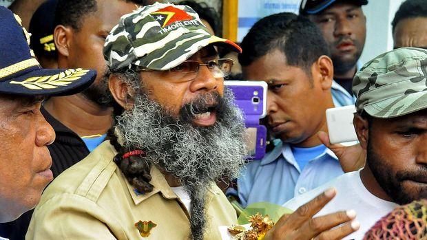 Filep Karma, salah satu aktivis politik Papua.