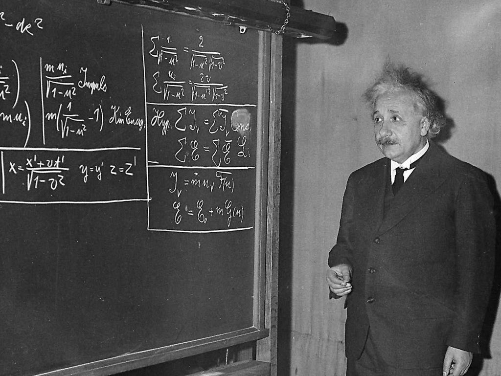 NASA Abadikan Albert Einstein Jadi Nama Rasi Bintang