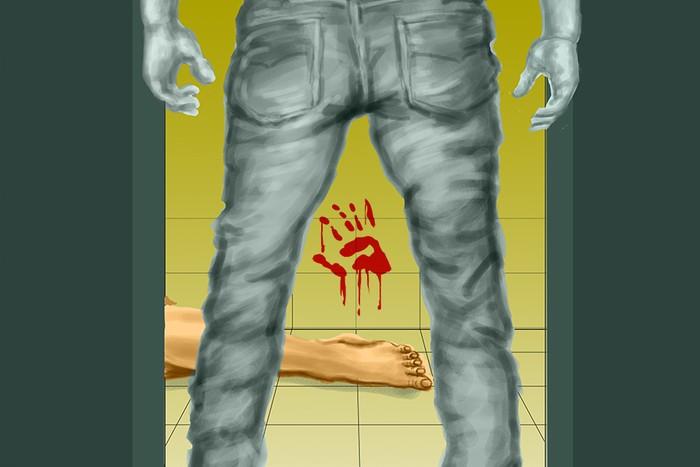Ilustrasi pembunuhan di kamar