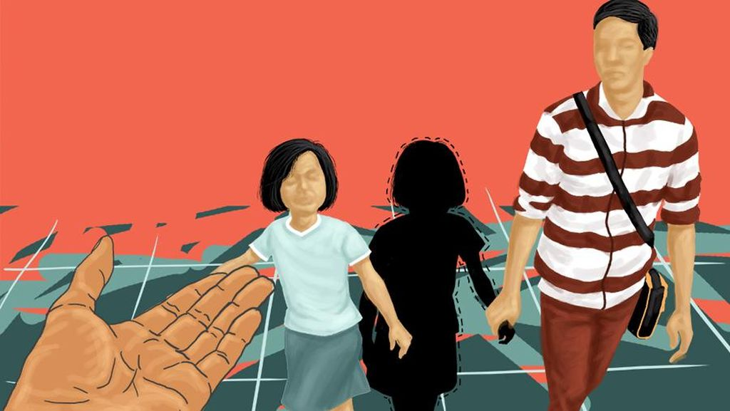 Polisi Buat Sketsa Wajah Pelaku Penculikan 8 ABG di Depok