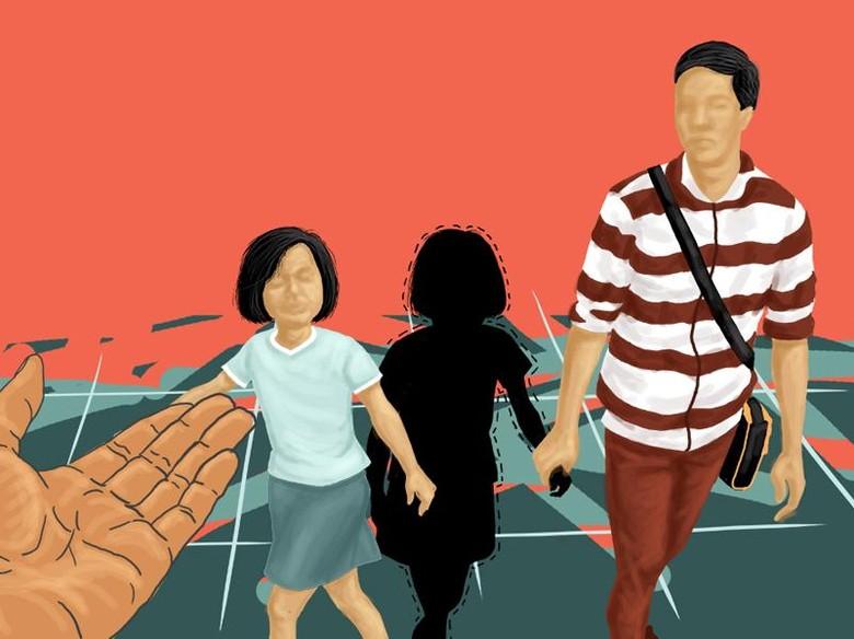 Pria Tak Dikenal Bawa Kabur Anak TK Surabaya Adalah Bapaknya