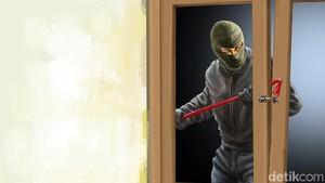 Pencuri di Tangsel Kepergok Pemilik Rumah Saat Beraksi