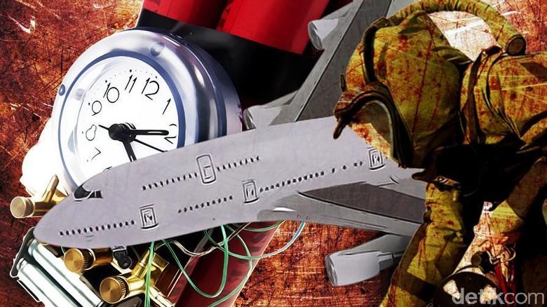 Bercanda soal Bom sampai Ngaku Teroris di Pesawat