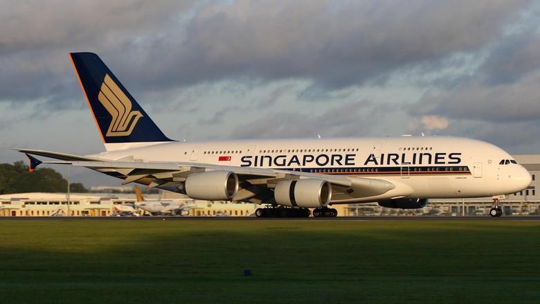 Pesawat Singapore Airlines