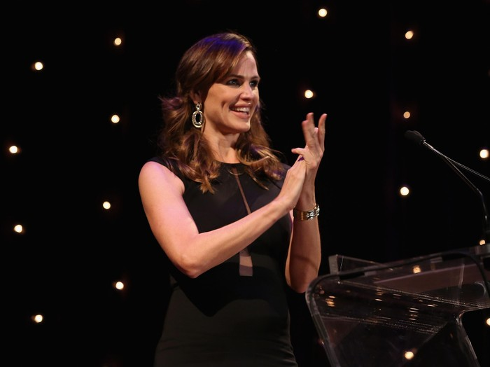 NEW YORK, NY - NOVEMBER 17:  Jennifer Garner speaks onstage at the 3rd Annual Save the Children Illumination Gala on November 17, 2015 in New York City.  (Photo by Cindy Ord/Getty Images for Save the Children)