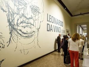 Sejarawan Temukan Jejak Rahasia dari Leonardo da Vinci