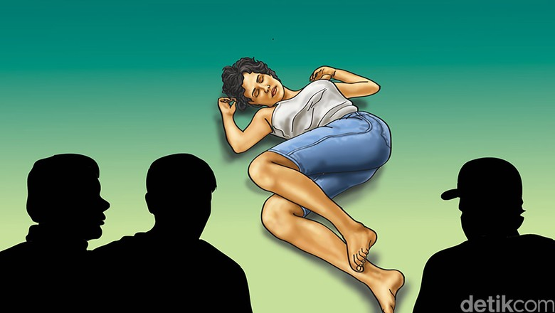 Gadis di Pinrang Sulsel Diperkosa 5 Orang