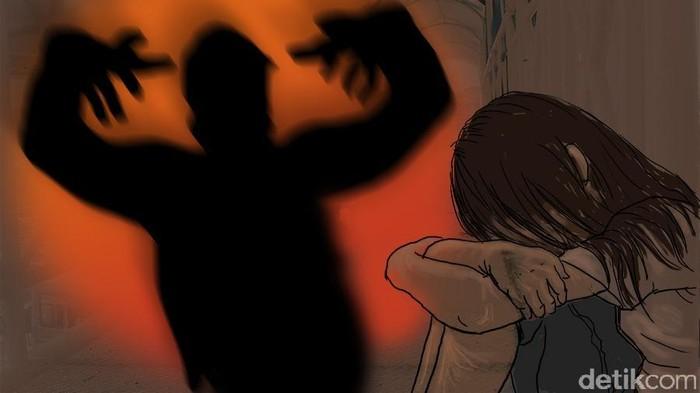 Ilustrasi pemerkosaan anak. Foto: Luthfy Syahban