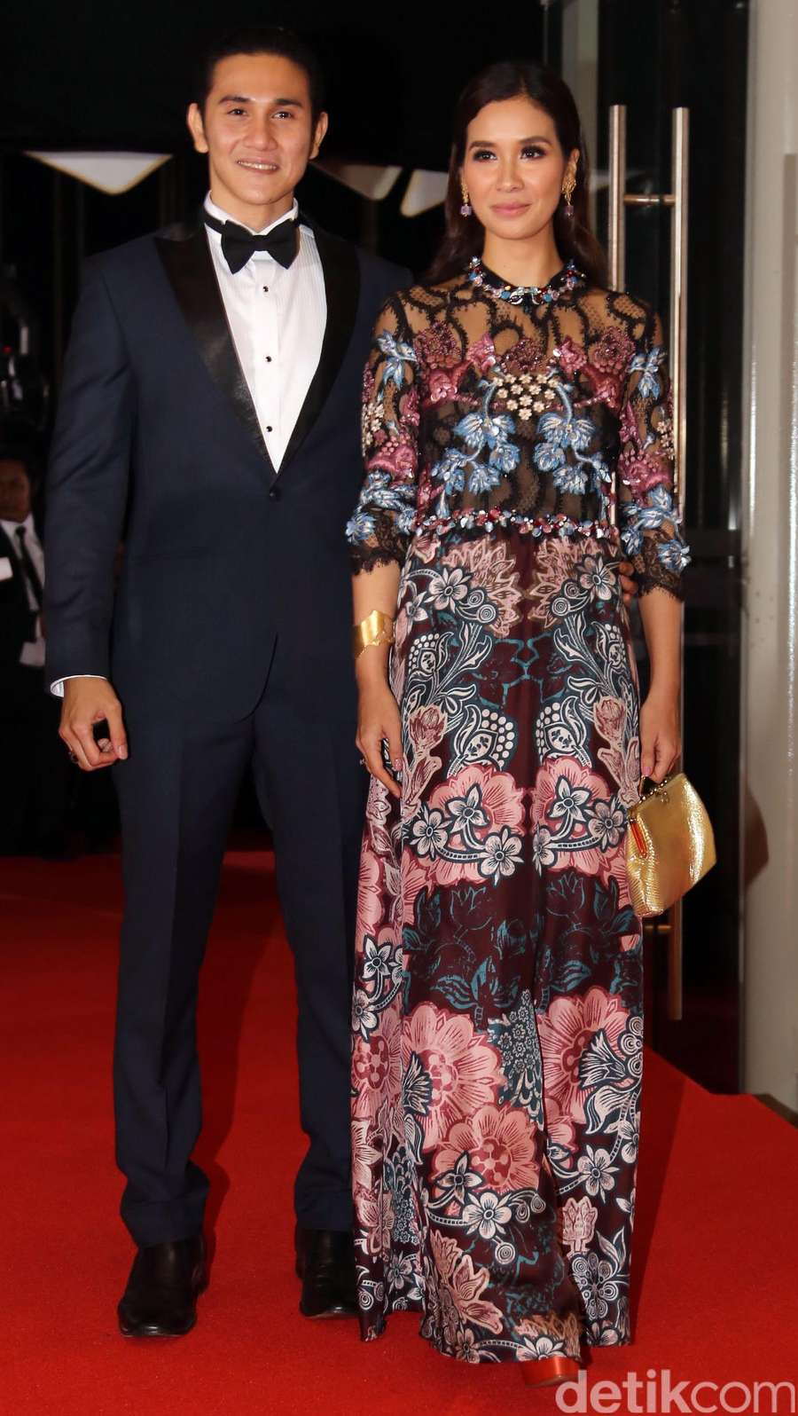 Lovely Couple! Vino G Bastian dan Marsha Timothy Serasi di FFI 2015