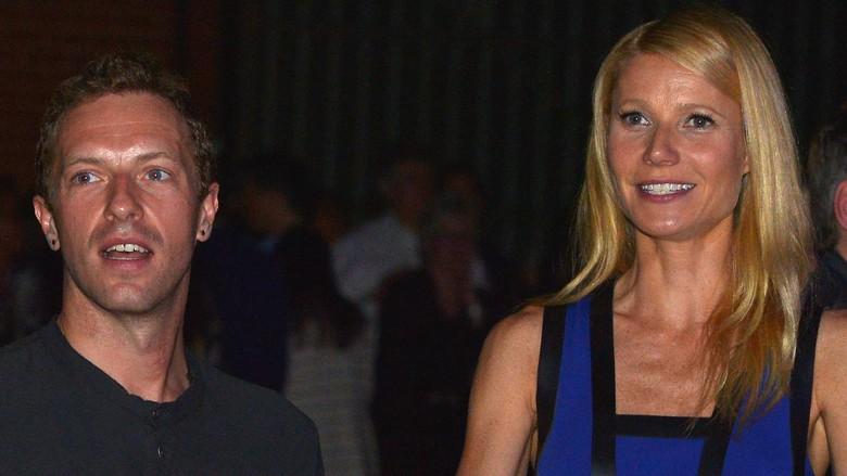 Manisnya Co-Parenting Chris Martin Coldplay dan Mantan Istri/Foto: charley gallay