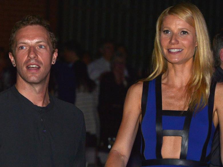 Adu Mesra Gwyneth Paltrow dan Chris Martin dengan Kekasih Baru