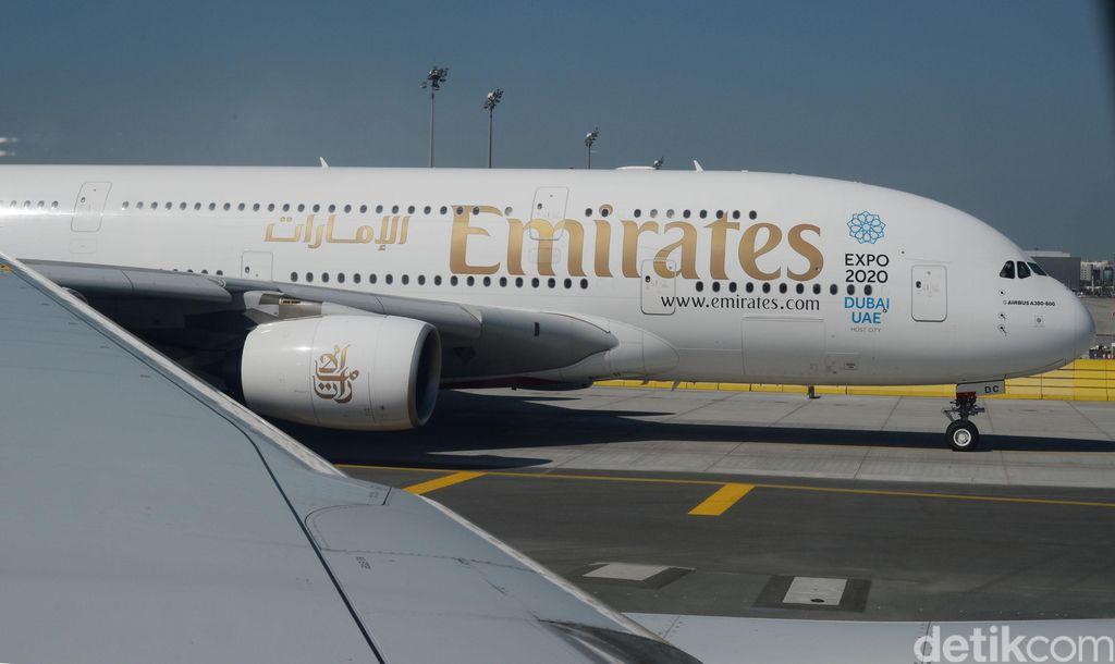Maskapai penerbangan Uni Emirat Arab, Emirates.