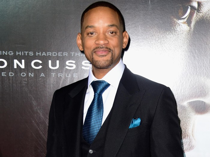 WESTWOOD, CA - NOVEMBER 23:  Actor Will Smith arrives at the Screening Of Columbia Pictures Concussion at Regency Village Theatre on November 23, 2015 in Westwood, California.  (Photo by Frazer Harrison/Getty Images)
