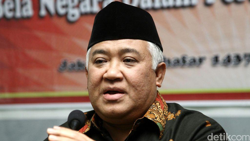Din Syamsuddin dan Islam Wasathiyah