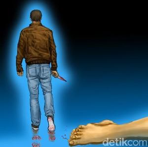 Miris, Suami Bunuh Istri dengan Sadis Setelah Dikira Hantu