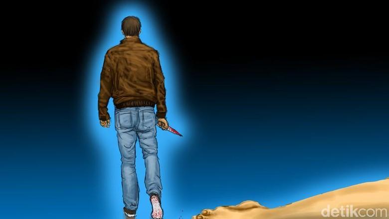 Cemburu Hendak Ditinggal Nikah, Pria Paruh Baya Bunuh Kekasihnya