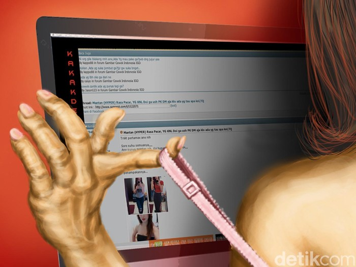 Ilustrasi Prostitusi Online
