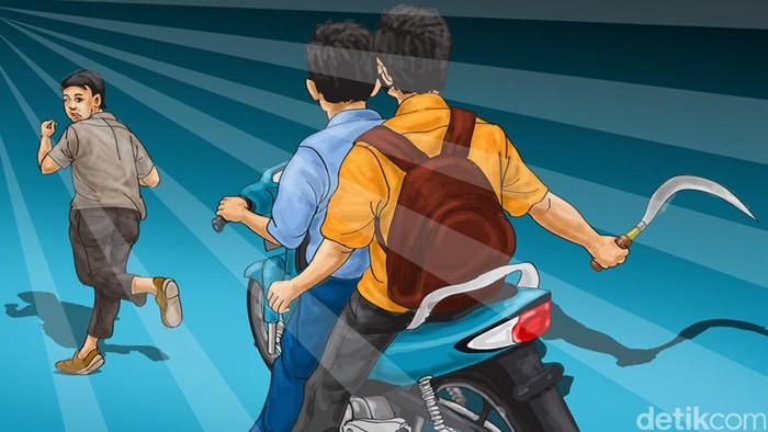 ilustrasi tawuran