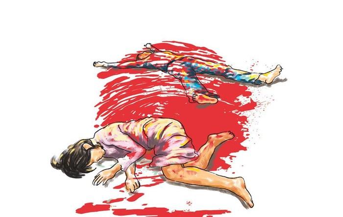 Ilustrasi Pembunuhan Pria-wanita
