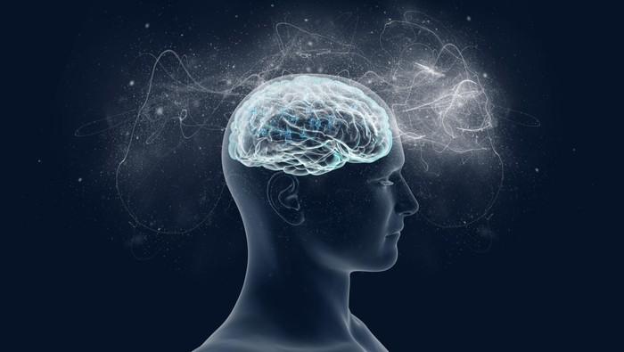 Seorang pria kehilangan kemampuan menyimpan ingatan sehingga harus mengandalkan catatan. (Foto: ilustrasi saraf otak)