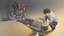 2 Remaja di Jakut Tewas Tertabrak Usai Salip Metromini dari Kiri