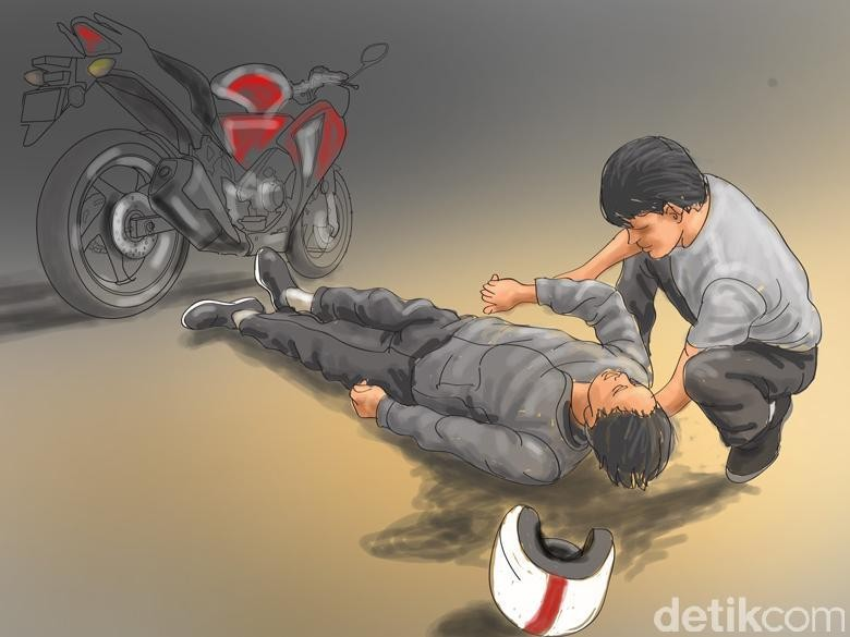 Bersimbah Darah, Pemuda Disabilitas di Sukabumi Diduga Dianiaya