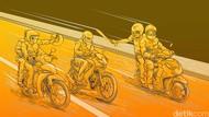 Todong Driver Ojol di Tangsel, 2 Orang Begal Ditangkap Polisi