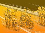 Pulang Kerja, Luki Tewas Dibacok Begal di Bekasi