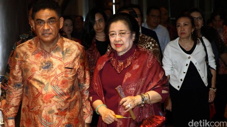 Megawati Senang NU dan Muhammadiyah Bicara Bersama di Haul Taufiq Kiemas