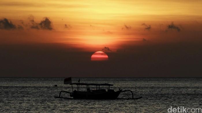 Perahu nelayan Pantai Lombok.  dikhy sasra/ilustrasi/detikfoto