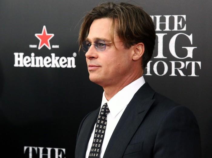 NEW YORK, NY - NOVEMBER 23:  Actor Brad Pitt attends