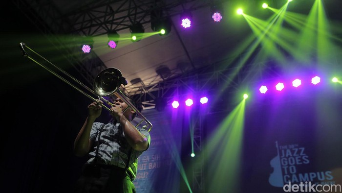 Jazz Goes to Campus. Foto: Asep Syaifullah