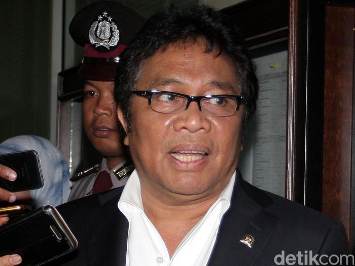 Ridwan Bae merupakan politikus Partai Golongan Karya (Golkar). Dia juga anggota Mahkamah Kehormatan Dewan (MKD) DPR. Lamhot Aritonang/detikcom.