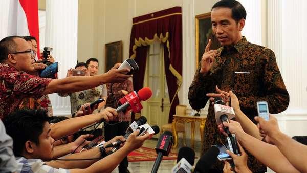 Jokowi soal Arahan Berantem: Ditonton Komplet, Jangan Sepotong