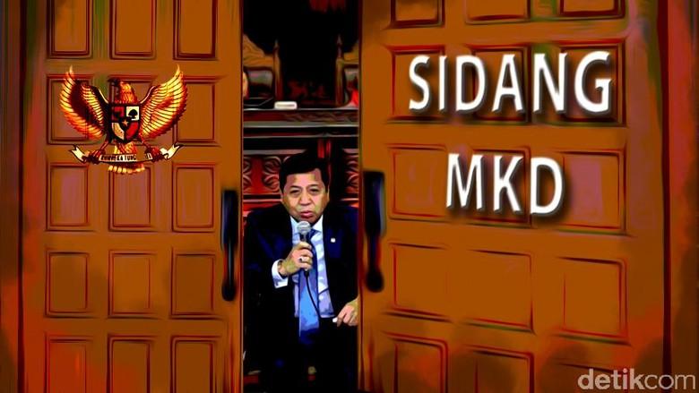 Kenapa Sidang Novanto Cuma 3 Jam? Ketua MKD: Karena Kecanggihan yang Jawab