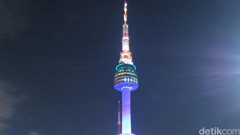 Namsan Tower Seoul (Atmi Ahsani Yusron/detikTravel)