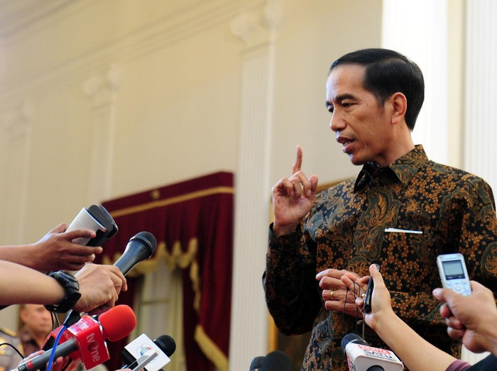 Foto: Capres Petahana Joko Widodo. (Dok Biro Pers Kepresidenan).