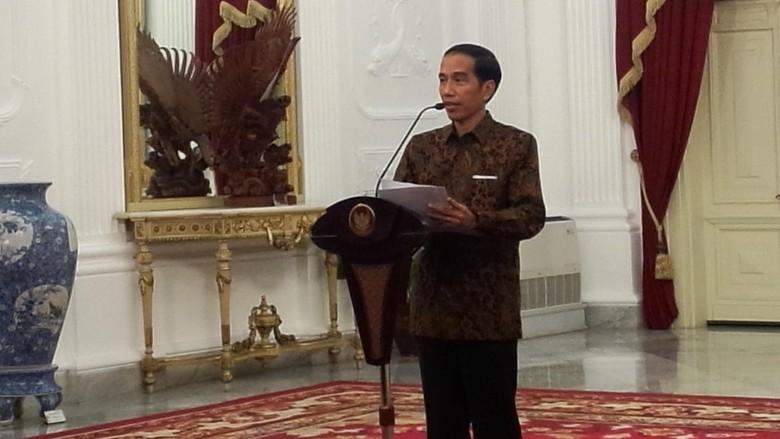 Jokowi: Doakan Arwah Para Pahlawan Trans Papua Diterima di Sisi-Nya