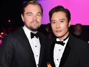 Yuk, Intip Keakraban Lee Byung Hun dan Leonardo DiCaprio!