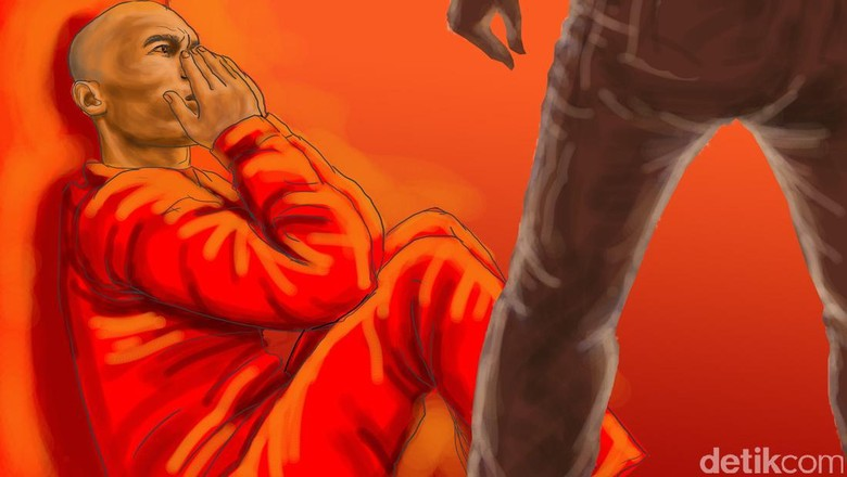 Barang Bukti Penganiayaan Iyan oleh EO Flona: Asbak hingga Bangku