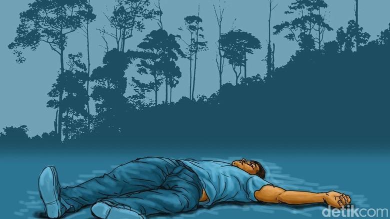 Mayat Pria di Kebun Teh Cianjur Miliki Tato Bandel