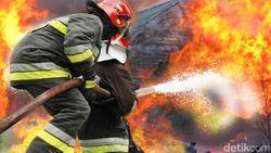 Kebakaran Terjadi di Restoran Korea di Kebayoran Baru