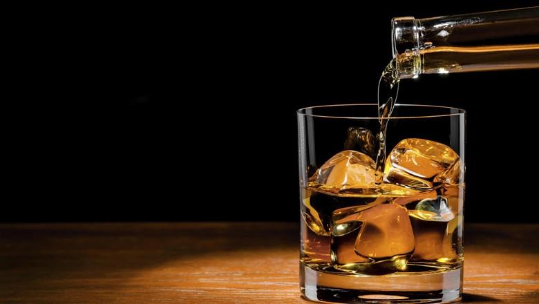 Ilustrasi minuman beralkohol (Thinkstock)