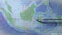 BMKG: Hari Ini Terjadi 53 Kali Gempa Tektonik