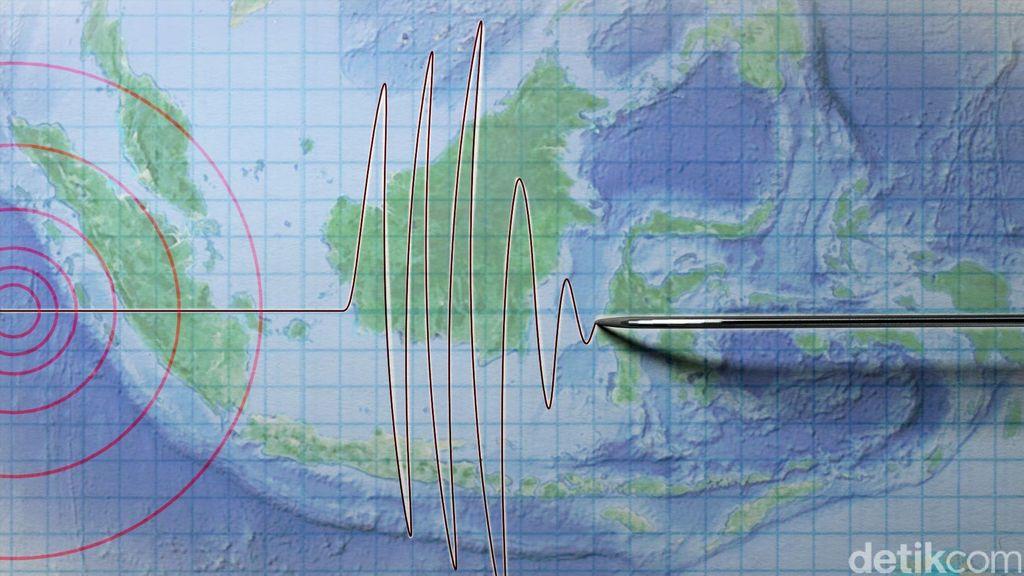 Gempa M 5 Terjadi di Labuha Malut, Tak Berpotensi Tsunami