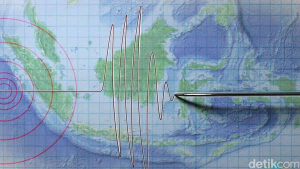 Gempa Bumi 4,5 SR Guncang Lombok Timur