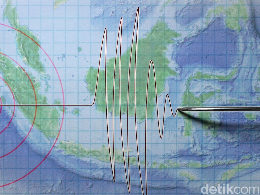 Gempa 4,7 SR Guncang Sukabumi