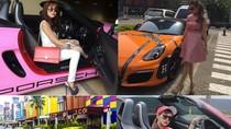 Bella Shofie, Porsche Berlabel Hermes dan Kebiasaan Pamer Tiket Pesawat